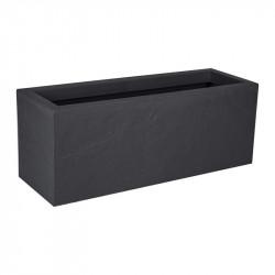 Balconnière Volcania Up - 59x19.2x22.8cm 25L gris anthracite - EDA Plastique