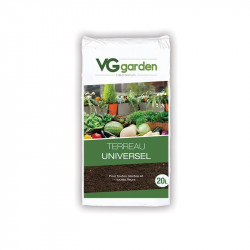 Potting soil with Universal fertilizer 20L - VG Garden