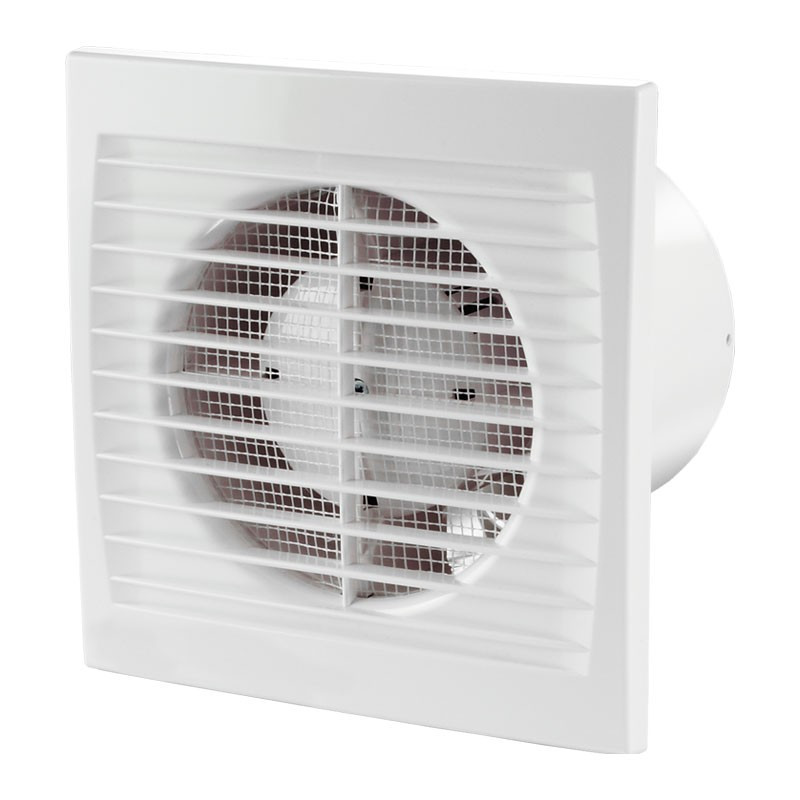 125 SILENTA-STH SILENT AIR VENT + TIMER + HUMIDITY