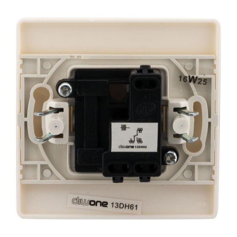10A toggle switch Diwone white + claw