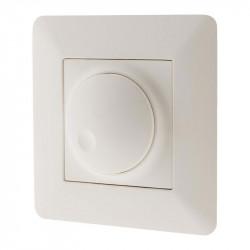 135715 VARIATEUR ROTATIF COMPATIBLE LED ARTEZO BLANC