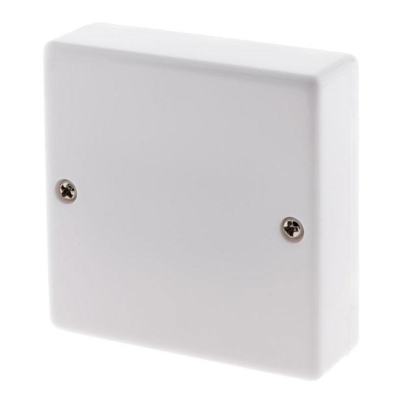 12-PIN DISTRIBUTION BOX WHITE
