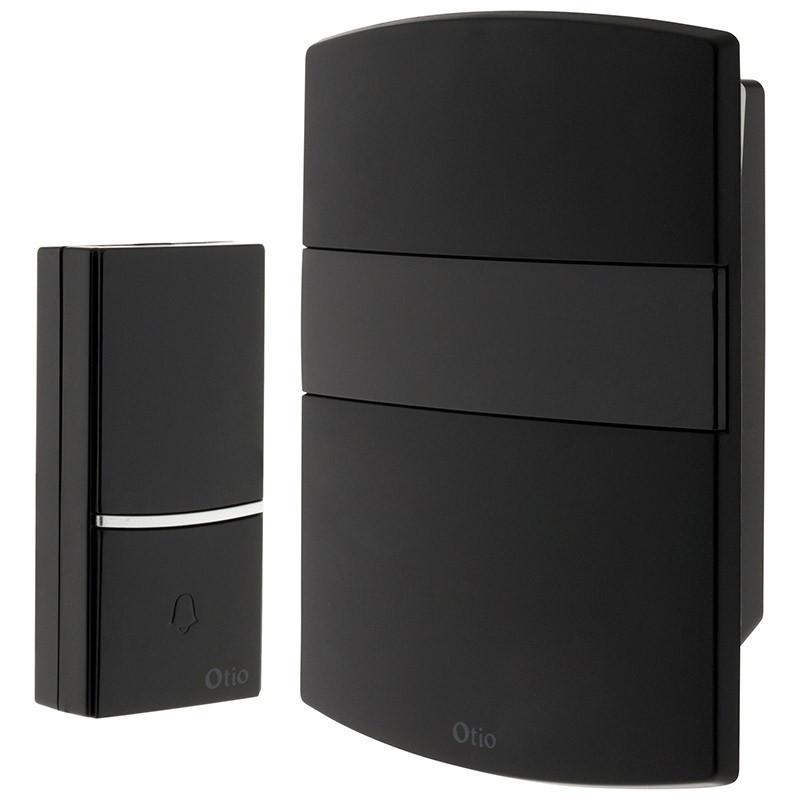 WIRELESS DECORATIVE CHIME CD100 BLACK - OTIO - 500021