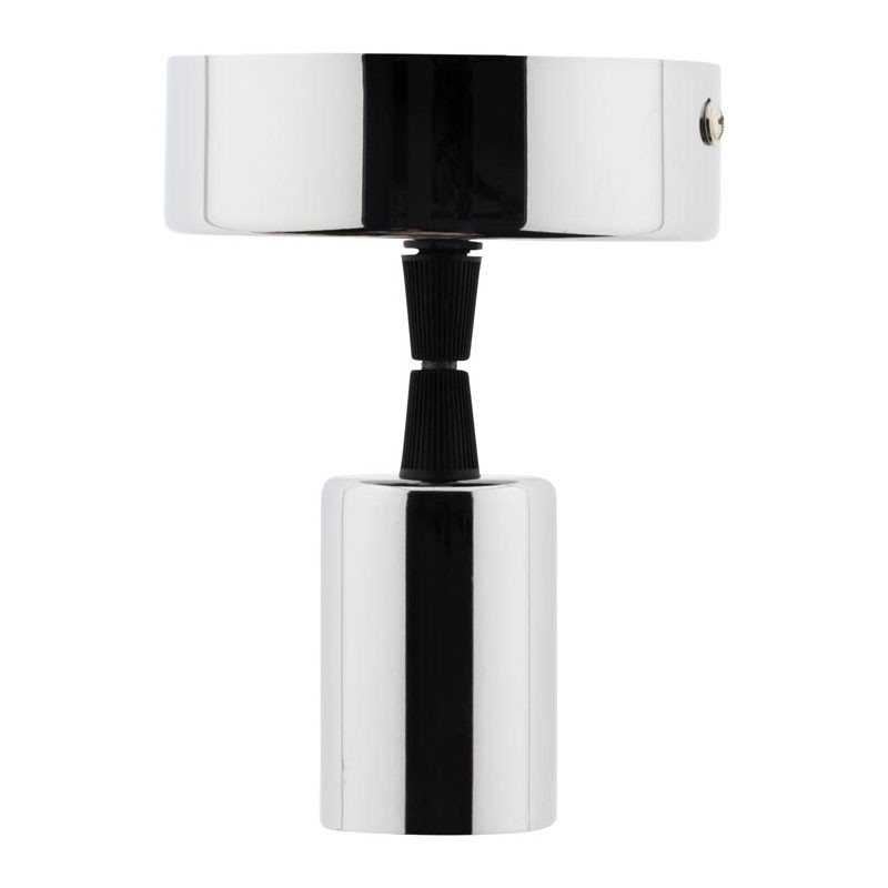E27 chrome Elexity decorative pendant luminaire