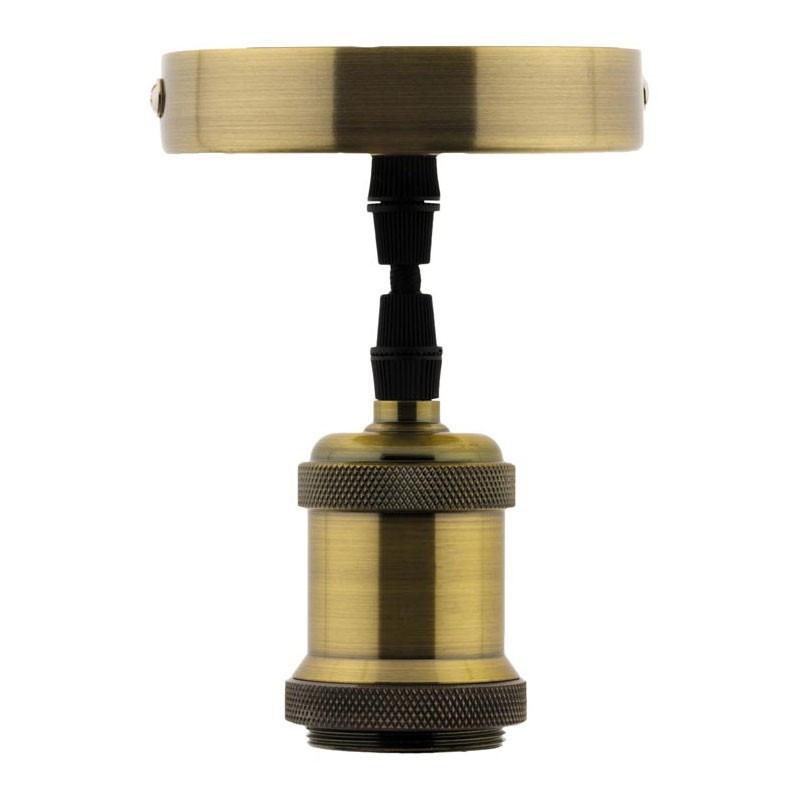 Decorative light with COPPER finish E27 ELEXITY suspension kit