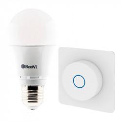 Pack ampoule + interrupteur variateur rond BT