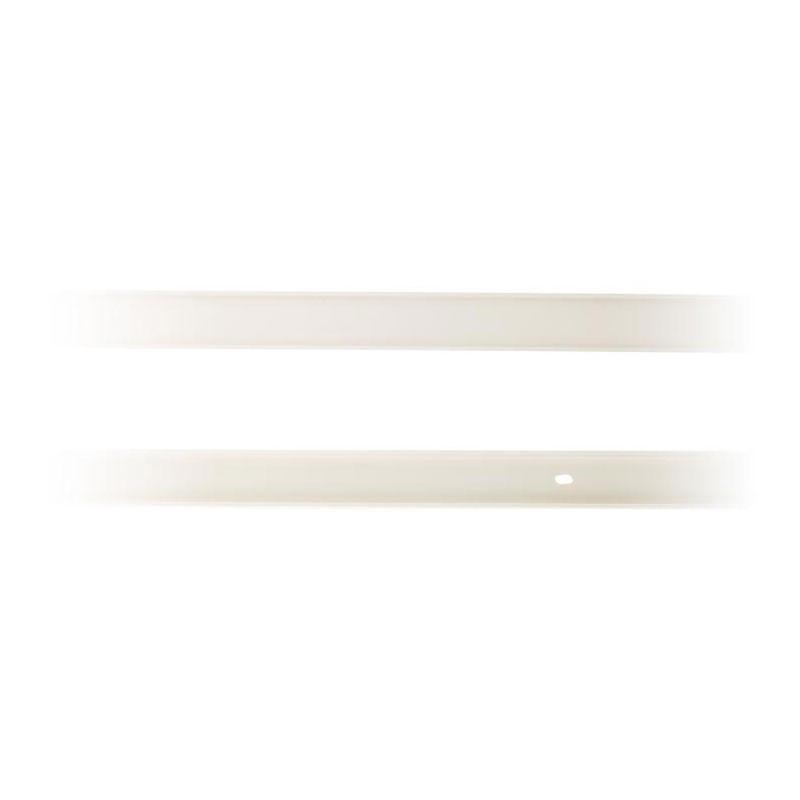 Moulding 30x10mm white length 2m Zenitech
