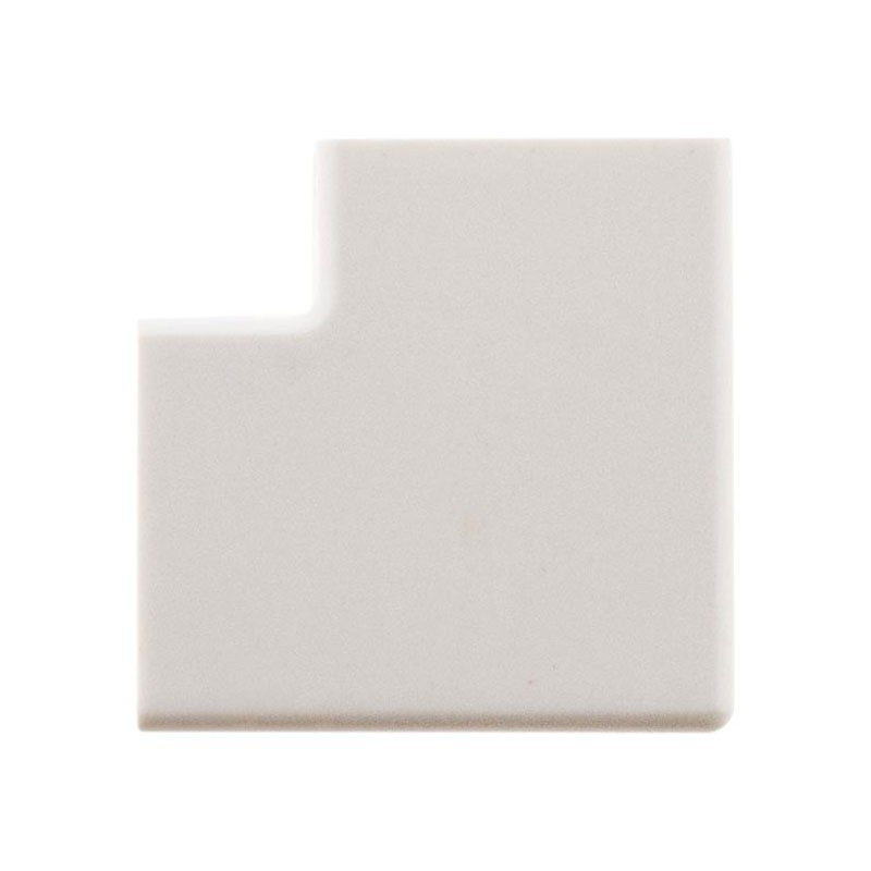 4 flat angles for mouldings 20X10mm white Zenitech