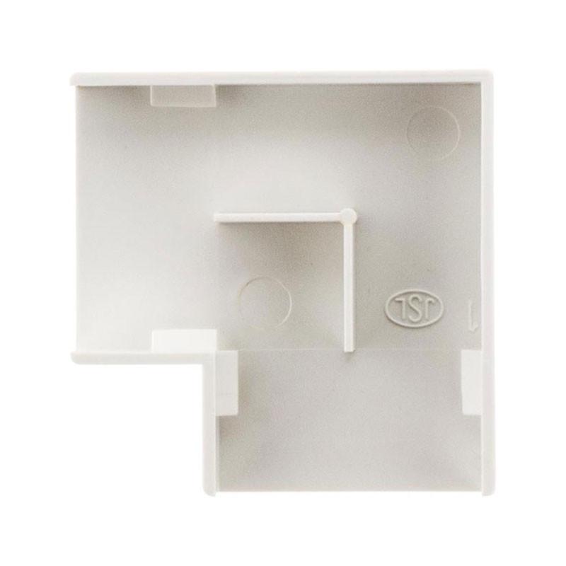 4 flat corners/mouldings 30X10mm white Zenitech