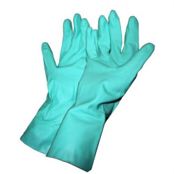 Special Phyto / Pair of Nitrile Gloves Green 31 cm Mapa