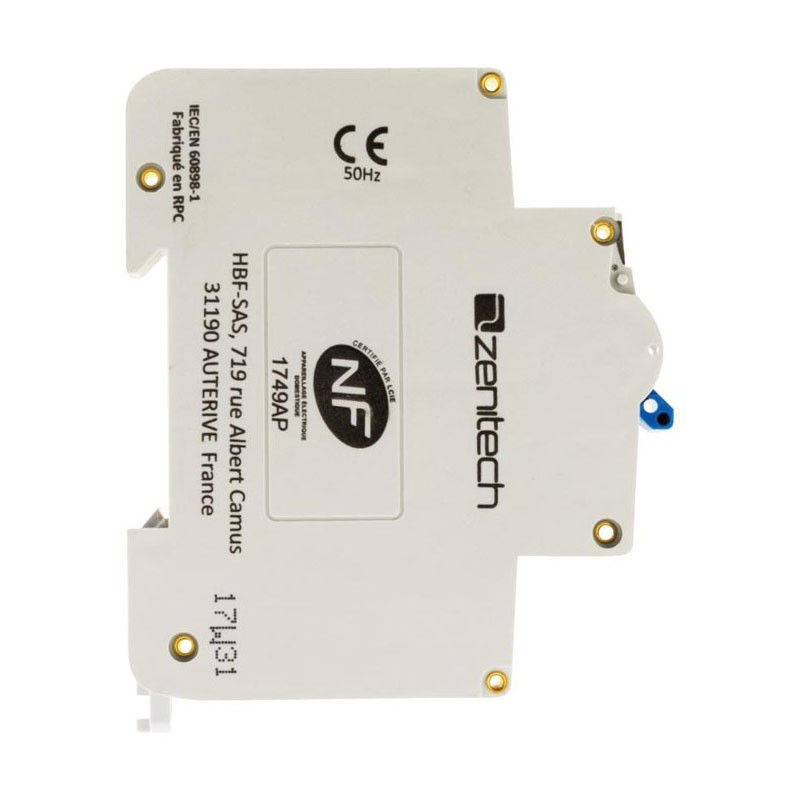 Circuit breaker PH/N 3KA 2A Zenitech for cumulus and water heater