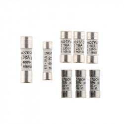 158905 8 FUSIBLES (3x10A+3x16A+20A+32A) AVEC VOYANT NF