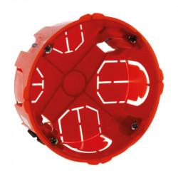 120124 BOITE RONDE D.85 P.40MM A PLACO VIS+GRIFFES
