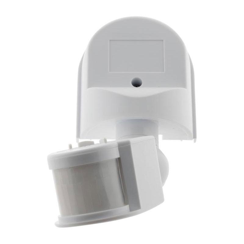 Motion detector 120° radius 500W surface-mounted white Elexity