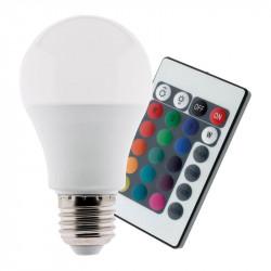 Led bulb 7.5 W E27 RGB + Remote control - Elexity
