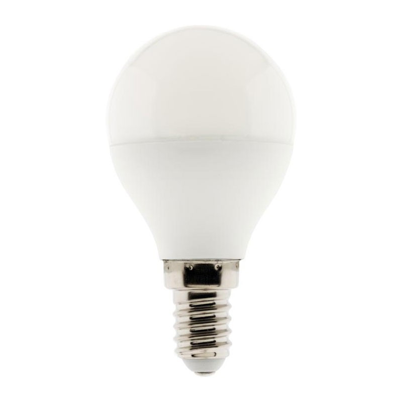 5.2W E14 470 Lumens Elexity 5.2W Dimmable LED bulb with sphere