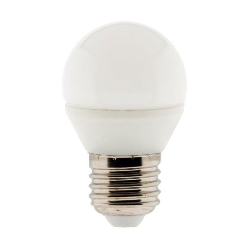 5.2W E27 470 Lumens ELEXITY 5.2W Spherical Dimmable LED Bulb