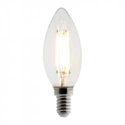 455047 AMPOULE LED FILAMENT FLAMME 4W E14 2700K 400LM