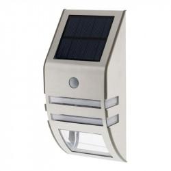 455132 APPLIQUE SOLAIRE LED A DETECTEUR DE MVT GRIS 50LM