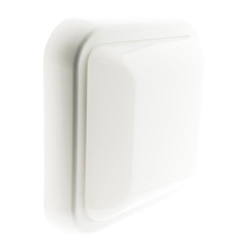 Square porthole led 15.W 1050lm IP44 white 4000K° Elexity
