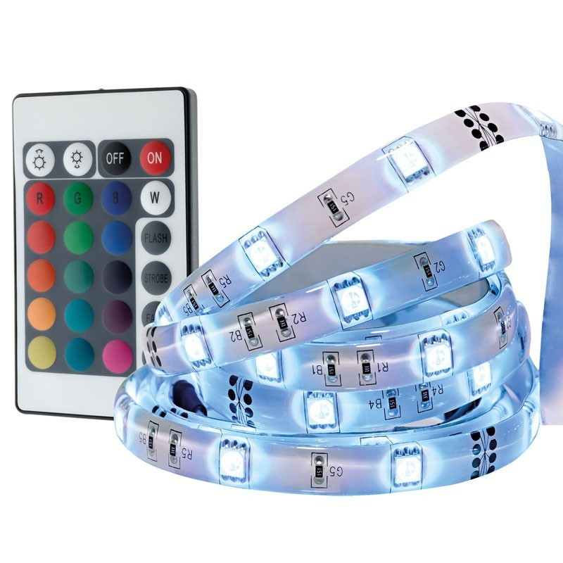 Flexible RGB 3M led tape with remote control
