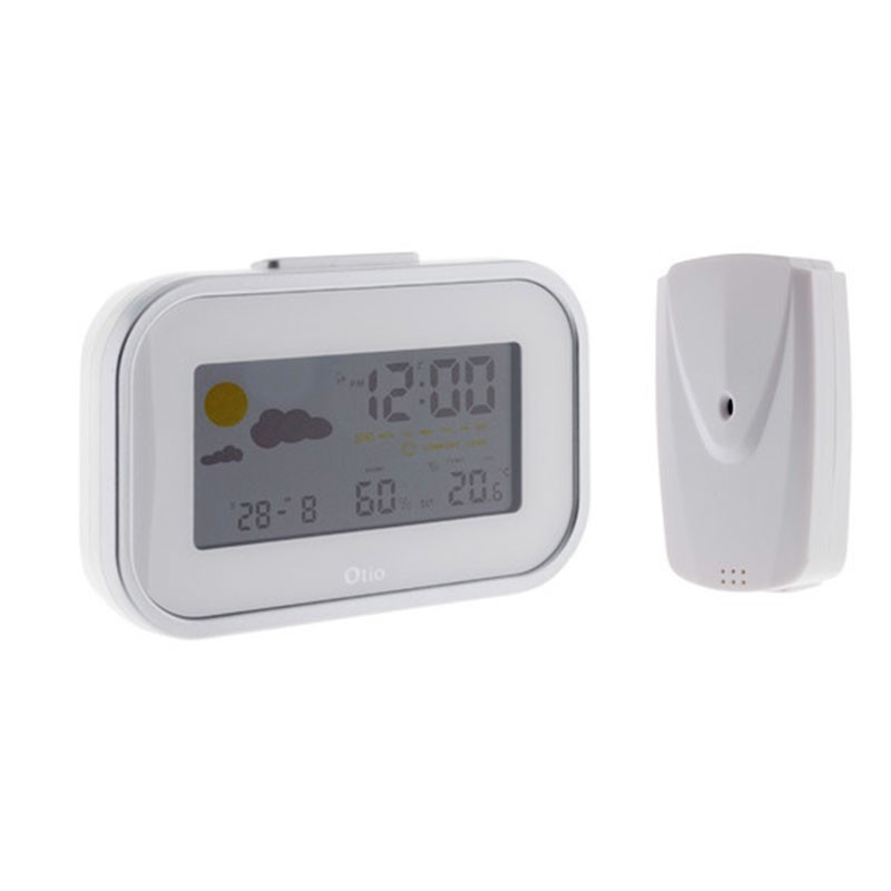 Mini weather station with wireless outdoor sensor - OTIO