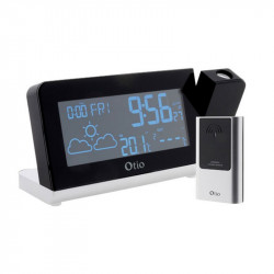 Central weather Mona Lisa with projection and wireless sensor - Otio