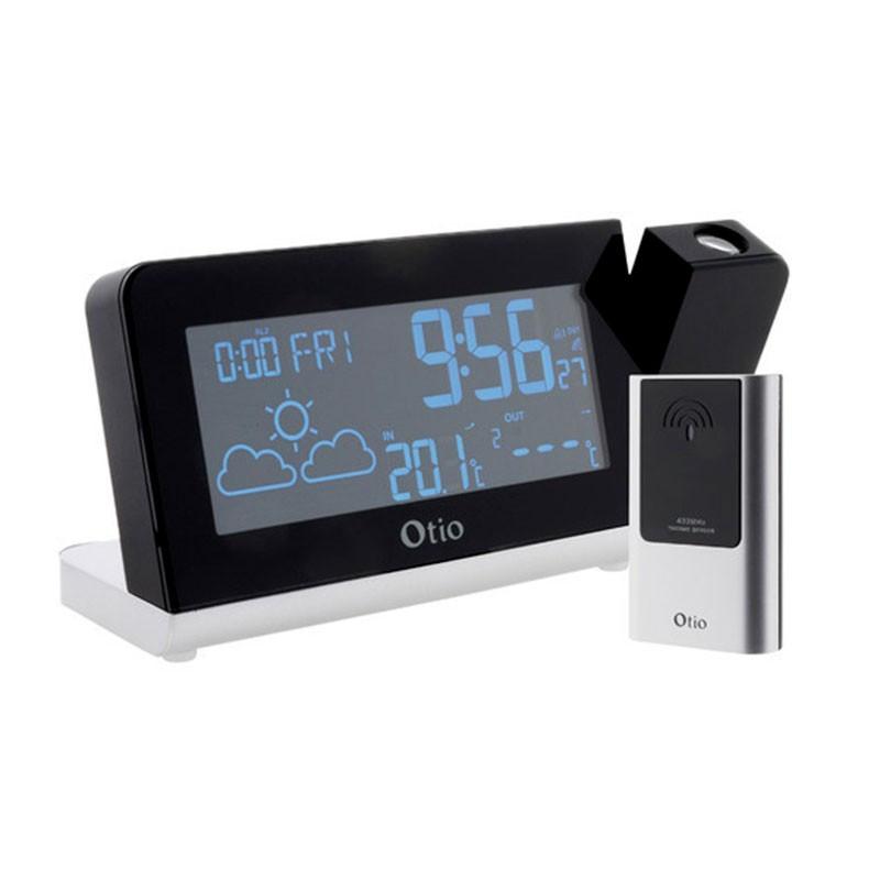 MonaLisa weather station with projection - Wireless sensor - Otio