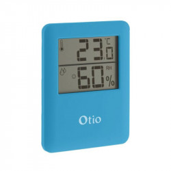 Thermomètre Hygromètres bleu Otio 65x80mm