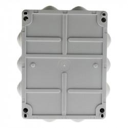 Boîte ETANCHE rectang. 220 x 170 x 105mm à visser 1/4 de Tour IP 54