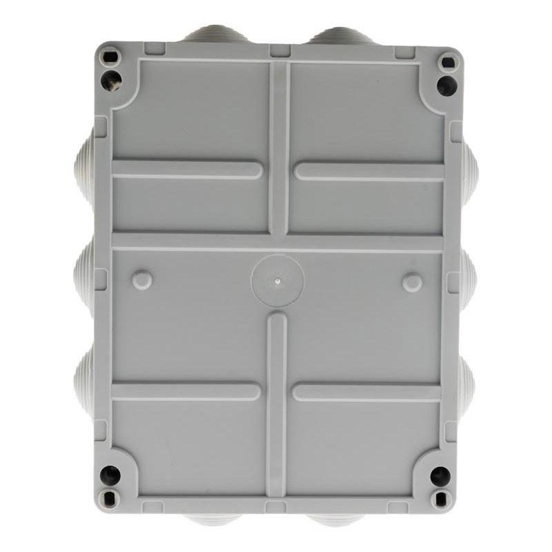 Rectangular waterproof box 220 x 170 x 105mm to screw 1/4 turn IP 54