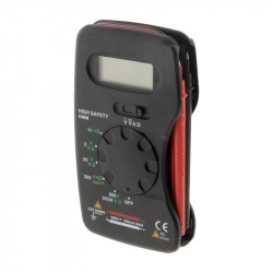 Multimeter, pocket-6 features 13 gauges, with cover - Lifedom