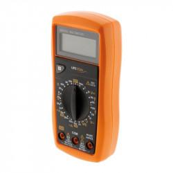 A digital multimeter anti-shock 8 functions 17 calibers - Lifedom