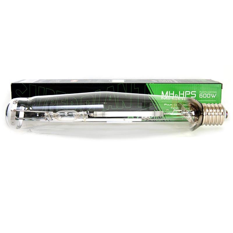 Ampoule HPS/MH - Hybride 600W - Superplant , lampe métal halide et hps , douille E40 , croissance et floraison