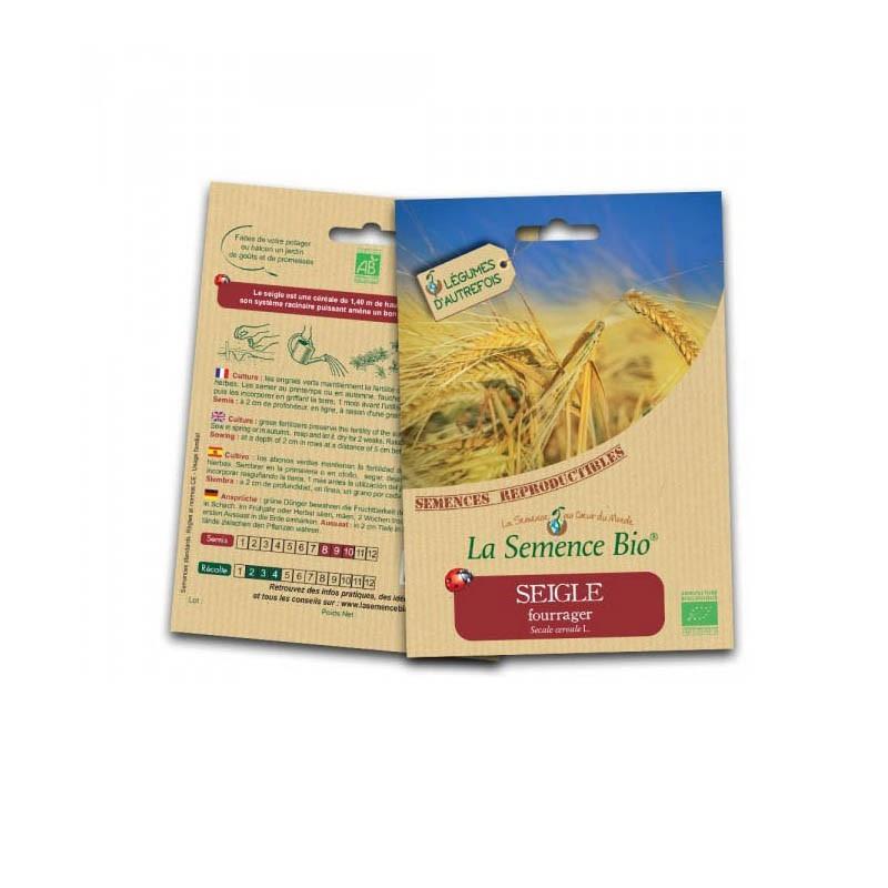 Graines Bio - Fodder rye - Organic seed