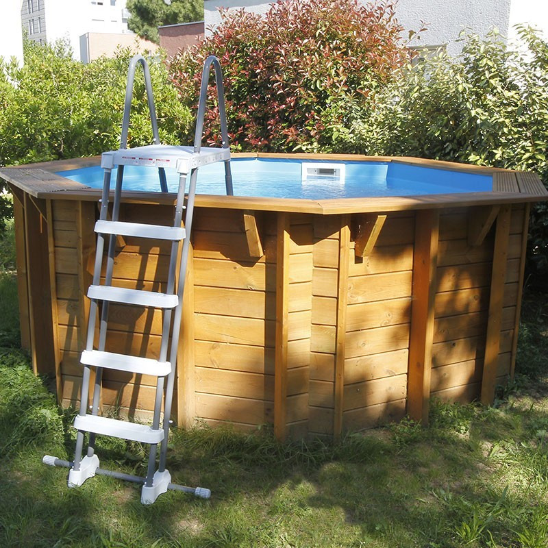 Sunwater All-in-One Octagonal Pool ø360cm - blue liner - Ubbink (delivery: 15 days)