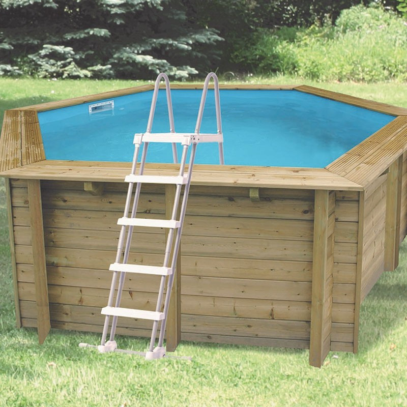 Sunwater All-in-One Octagonal Pool ø410cm - blue liner - Ubbink (delivery: 15 days)