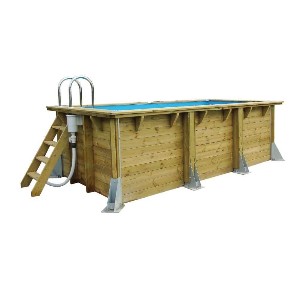 Swimming pool Azura 250x450cm - blue liner - Ubbink (delivery: 15 days)