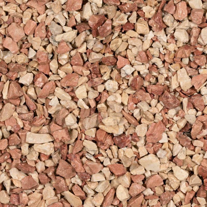 Gravel mediterranea 8-12mm - Pink Limestone - 20kg - Michel Oprey & Beisterveld