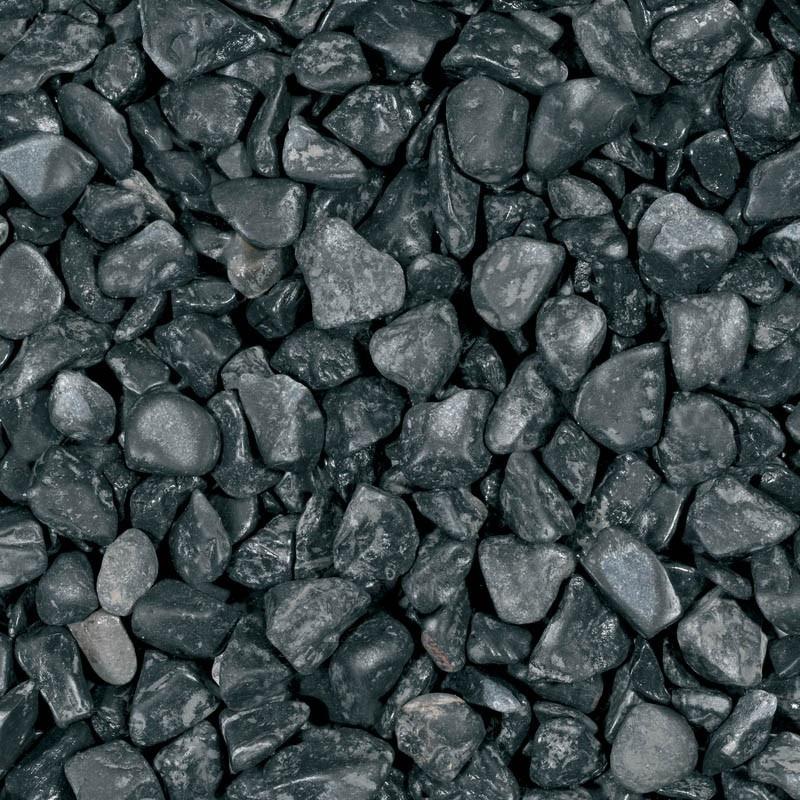 Gravel Nero Ebano 25-40mm - black basalt - 20kg - Michel Oprey & Beisterveld