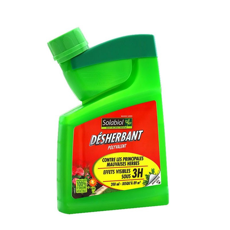 SOLABIOL MULTI-PURPOSE WEED KILLER CONCENTRATE SHOCK CONCENTRATE 400ML SELF-DOSING CANISTER