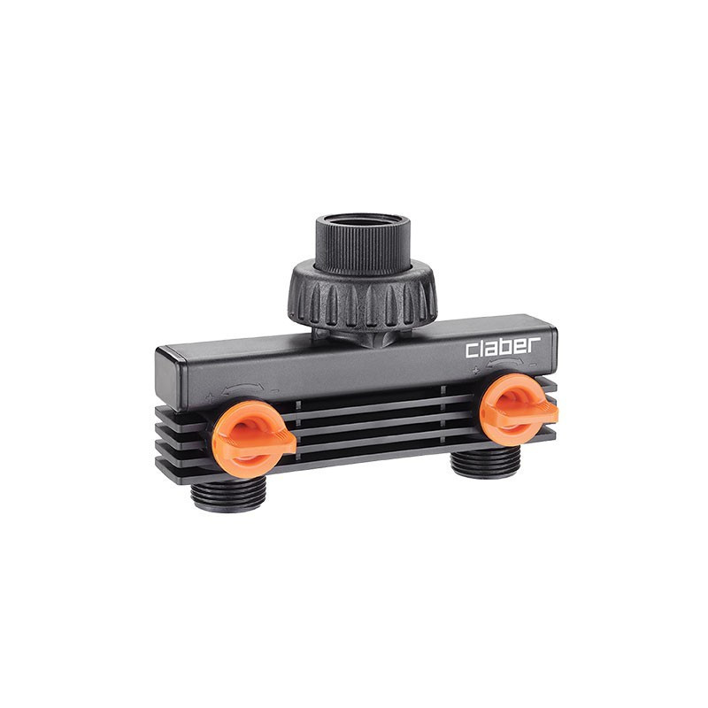 20/27mm two-way threaded socket - Watering Claber