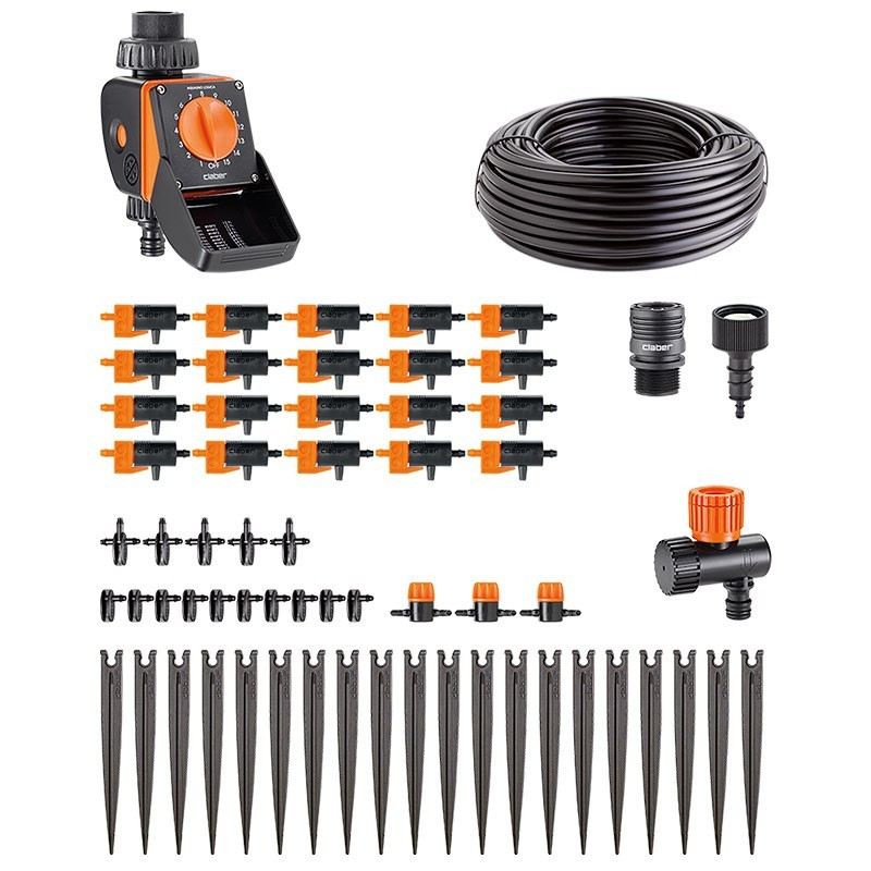 Kit Timer 20 Logica drip irrigation 20 pots - Watering Claber