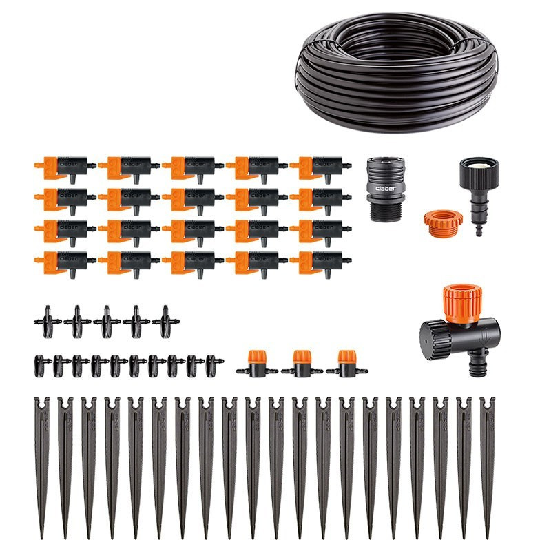 Drip irrigation kit 20 pots - Watering Claber