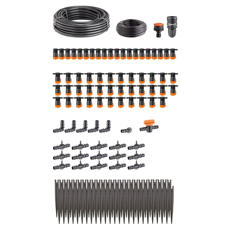 Terrace drip watering kit for up to 50 plants - Watering Claber