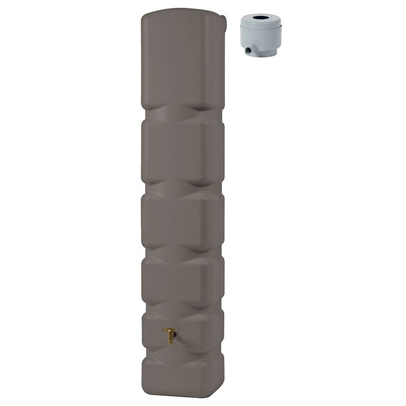 Wall mounted tank kit Basic taupe - 300L - Garantia