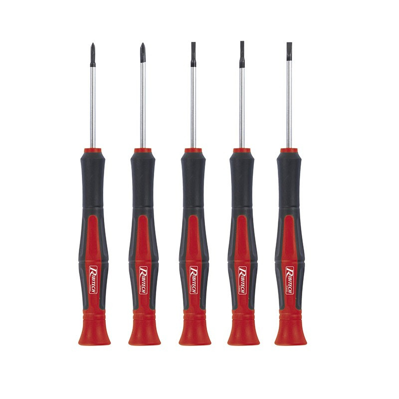 Set of 5 precision screwdrivers with magnets - Ribitech