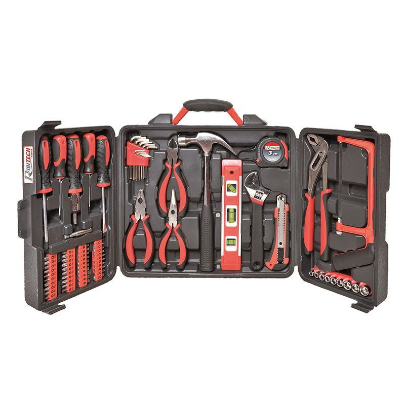 Toolbox 76 pieces in a suitcase - Ribitech