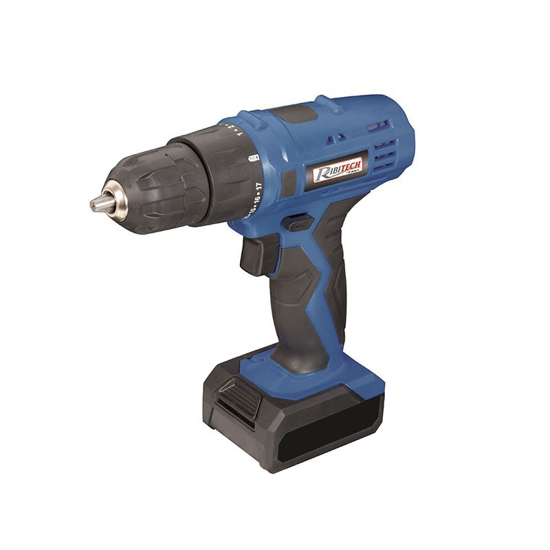 12v 1.3ah lithium-plated drill/driver with battery - Ribitech