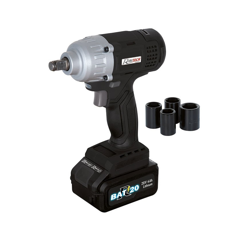 Impact wrench R-BAT20 Battery 20v 4amp + Quick Charger - Ribitech